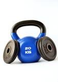Narzędzia dla bodybuilding i sprawności fizycznej Zdjęcie Stock