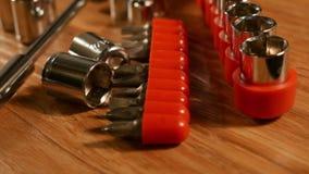 Narzędzia dla use z ryglami i śrubami zbiory