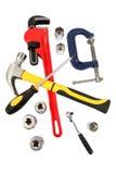 Narzędzia dla złotej rączki obrazy stock