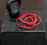 Narzędzia sprawność fizyczna i występ obrazy stock