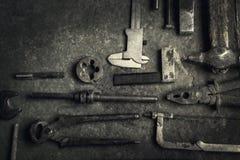 narzędzia starzy narzędzia Zdjęcie Stock