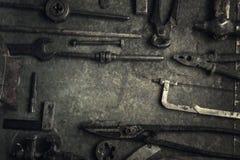 narzędzia starzy narzędzia Obraz Royalty Free