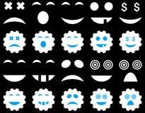 Narzędzie, przekładnia, uśmiech, emocj ikony Zdjęcia Royalty Free