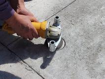 narządzanie betonowa próbka Obraz Stock