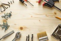 Narzędzia dla napraw w domu Obrazy Royalty Free