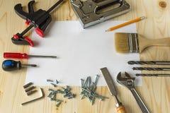 Narzędzia dla napraw w domu Obrazy Stock