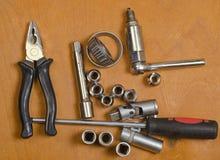 Narzędzia dla samochodowych napraw Zdjęcia Royalty Free