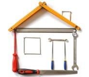 narzędzia domów Zdjęcia Royalty Free