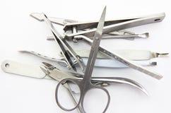 Narzędzia manicure'u set Zdjęcie Stock