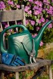 narzędzia pracy w ogrodzie Fotografia Stock