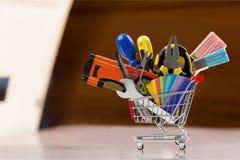 Narzędzia sklep Fotografia Stock
