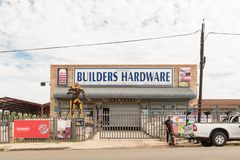 Narzędzia sklep w Dundee w Natal prowinci Obraz Royalty Free