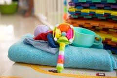 Narzędzie i zabawka dla dziecka Obraz Stock