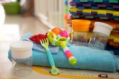 Narzędzie i zabawka dla dziecka Obrazy Stock