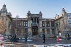 Narzan bad för huvudbyggnad i Kislovodsk, Ryssland arkivfoton