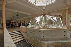 Narzan galleri i Kislovodsk Arkivbild