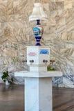Narzan water source in narzan gallery Royalty Free Stock Photo