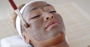 Narzuca kosmetyk maskę zdjęcie wideo