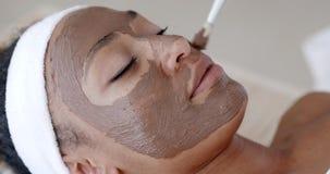 Narzuca kosmetyk maskę zbiory wideo