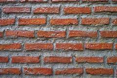 Narzutu ściana z cegieł Obraz Stock