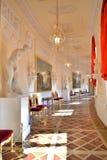 Nasłoneczniona Grecka sala Gatchina pałac Obrazy Stock