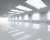 Nasłoneczniona wielka sala również zwrócić corel ilustracji wektora ilustracji