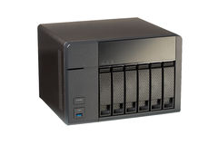 NAS at 6 compartments for HD Stock Photography