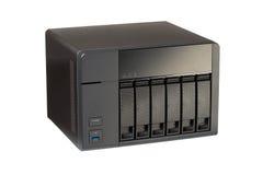 NAS en 6 compartimientos para HD fotografía de archivo