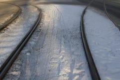 Nas estradas transversaas Imagem de Stock