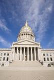 Nas etapas do edifício de capital de West Virginia fotos de stock