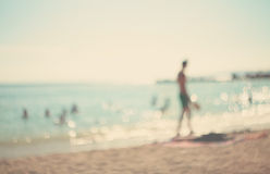 Nas férias de verão. Fotos de Stock