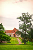 Nas kościół Szwecja Zdjęcie Royalty Free