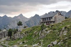 Nas montanhas Foto de Stock Royalty Free