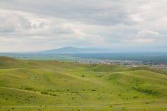 Nas montanhas antes da tempestade Fotos de Stock Royalty Free