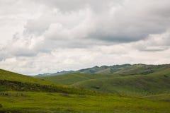 Nas montanhas antes da tempestade Foto de Stock