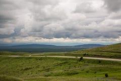 Nas montanhas antes da tempestade Fotografia de Stock Royalty Free