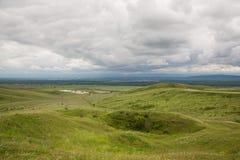 Nas montanhas antes da tempestade Foto de Stock Royalty Free