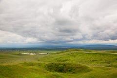 Nas montanhas antes da tempestade Imagens de Stock Royalty Free