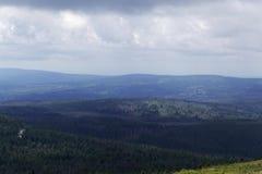Nas montanhas de Harz fotografia de stock royalty free