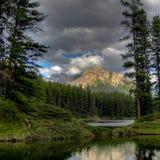 Nasłoneczniona góra Obraz Royalty Free