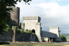 Nas paredes do castelo Fotografia de Stock Royalty Free