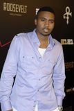 Nas on the red carpet. Royalty Free Stock Image