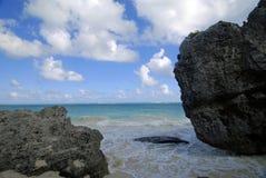 Nas rochas Fotografia de Stock Royalty Free