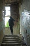 Nas ruínas Foto de Stock