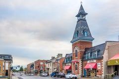 Nas ruas de Kingston em Canadá fotografia de stock royalty free