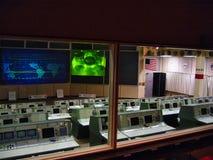 NASA κεντρικού ελέγχου Στοκ Εικόνα