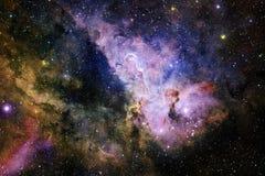 Τρομερός του βαθιού διαστήματος Δισεκατομμύρια των γαλαξιών στον κόσμο στοκ φωτογραφίες με δικαίωμα ελεύθερης χρήσης