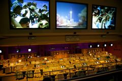 NASA Apollo Missions Flight Control Royalty Free Stock Photo