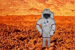 NASA astronauta bada w przestrzeni Fotografia Royalty Free