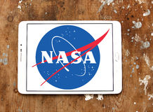 Nasa astronautycznej agenci logo Zdjęcia Royalty Free